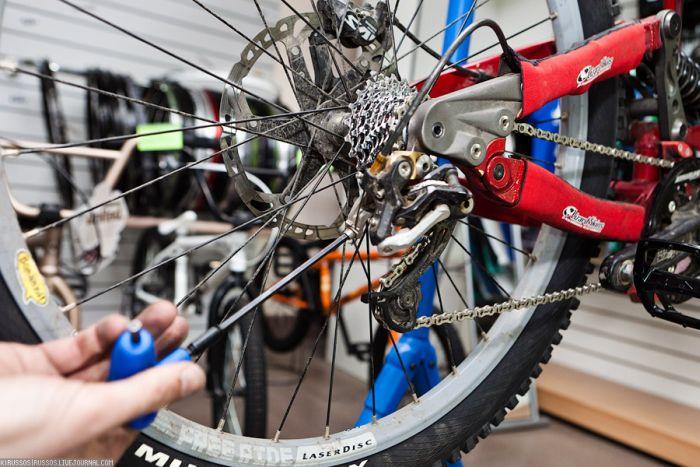 Готовим велосипед к летнему сезону (51 фото)