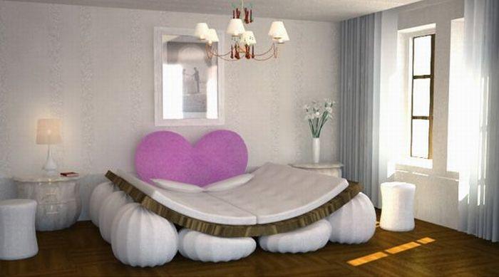 Кровать для любви (4 фото)