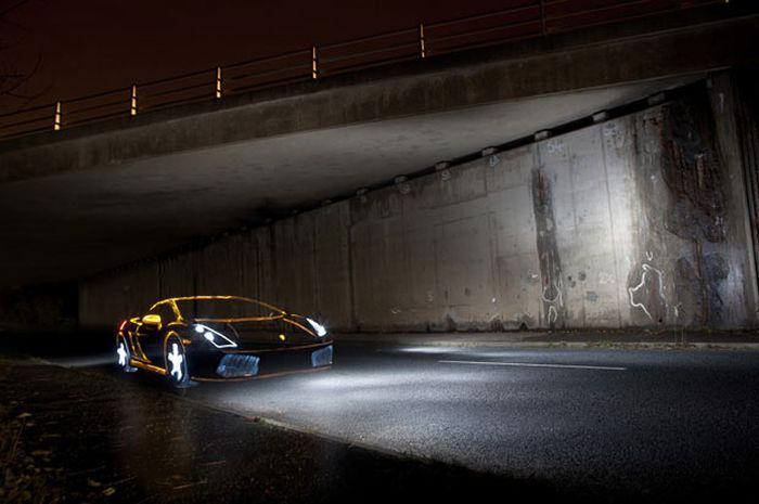 Нарисованные автомобили (19 фото)