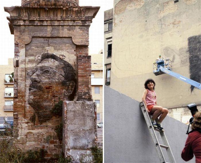 Рисунки на стенах (65 фото)