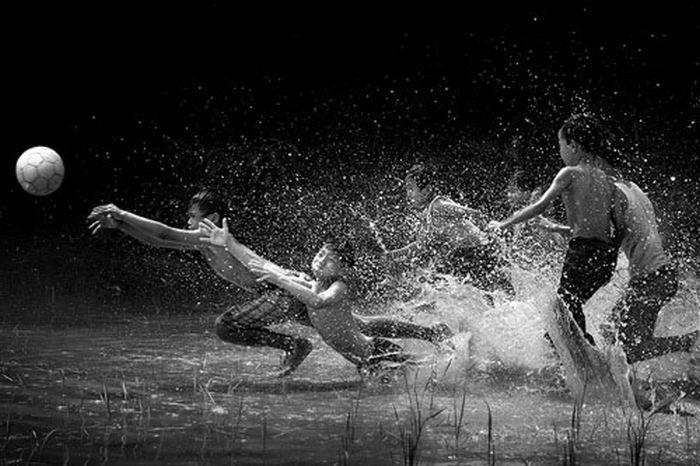 Потрясающие фотографии, сделанные в нужный момент (41 фото)