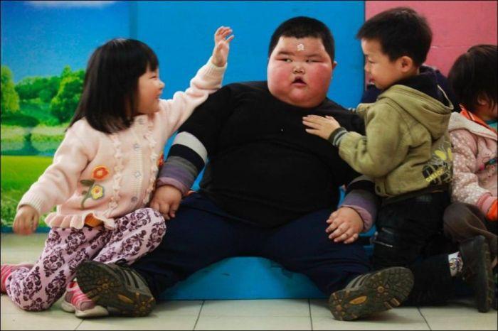 Толстый малыш (8 фото)