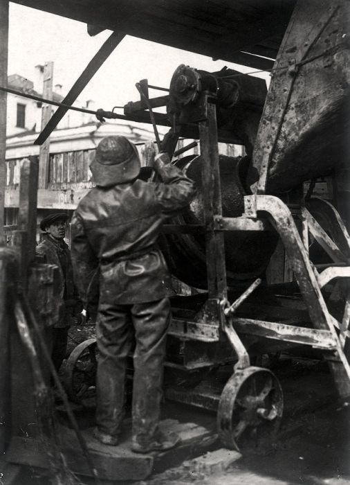 Как строили первую очередь Московского метрополитена (74 фото)