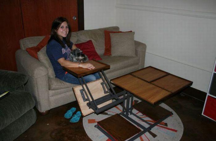 Стол-трансформер (7 фото)