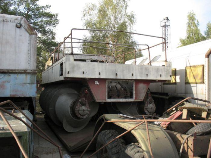 Заброшенные концепты советских вездеходов (19 фото)