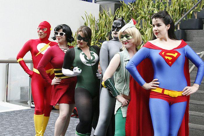 Девушки с фестиваля косплея WonderCon (48 фото)