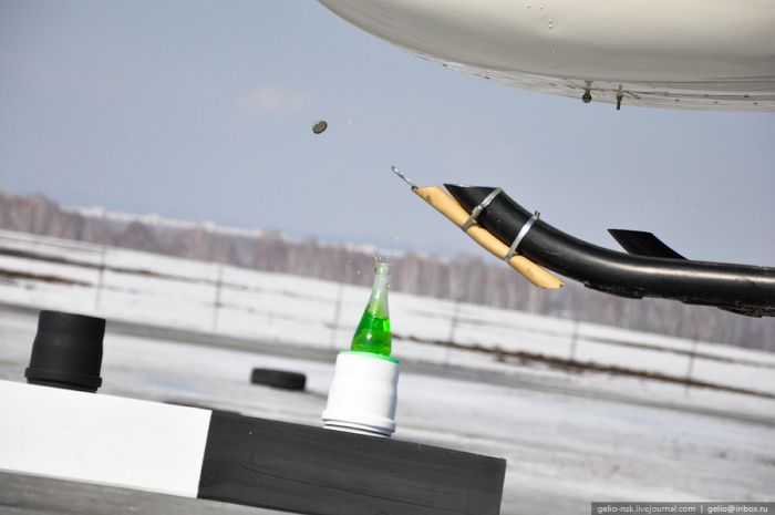 Как открыть бутылку лимонада (14 фото)