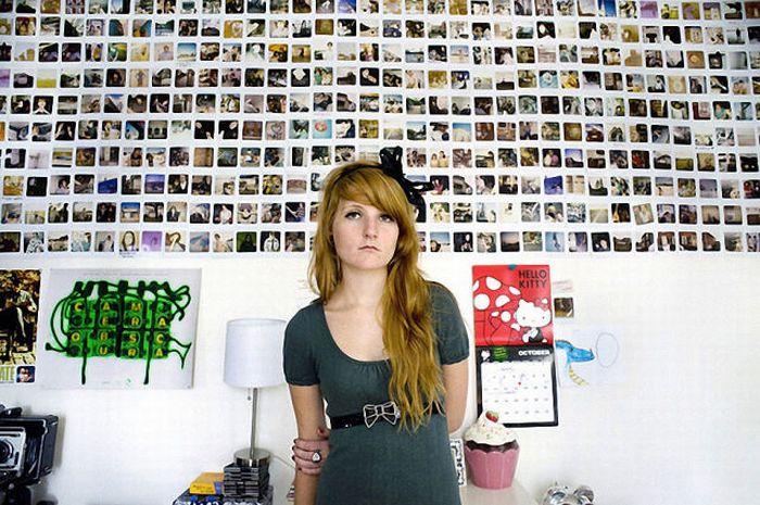 Опа  Девушки и их комнаты (78 фото)