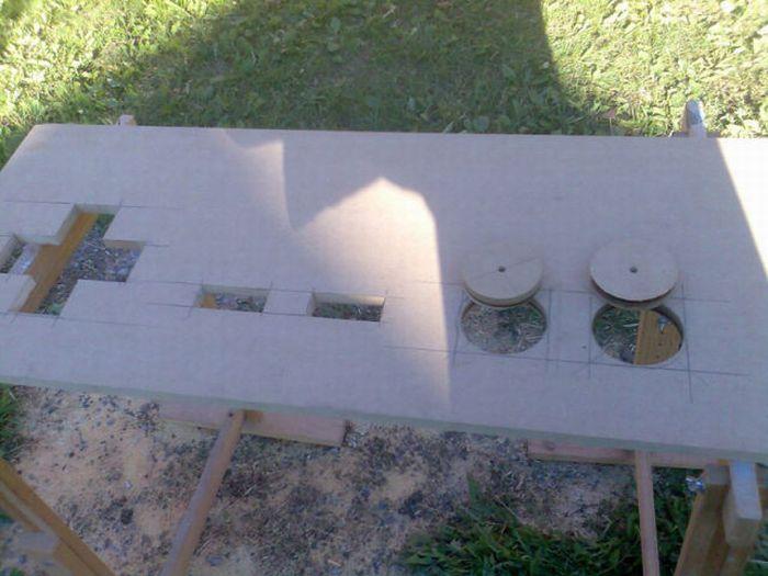 Геймерский кофейный столик (18 фото)