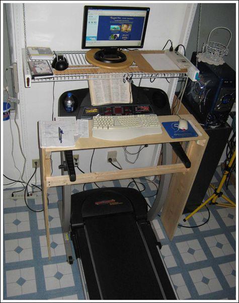 беговая дорожка и компьютер
