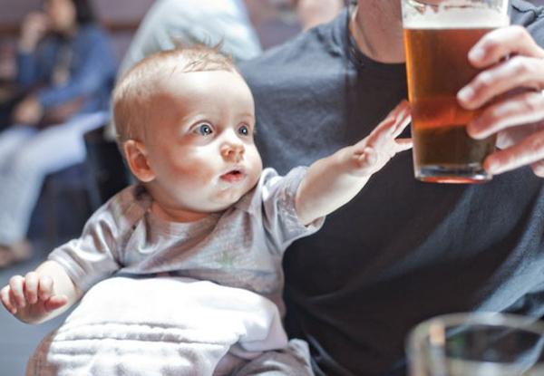 Алкоголизм и дети до 7 лет