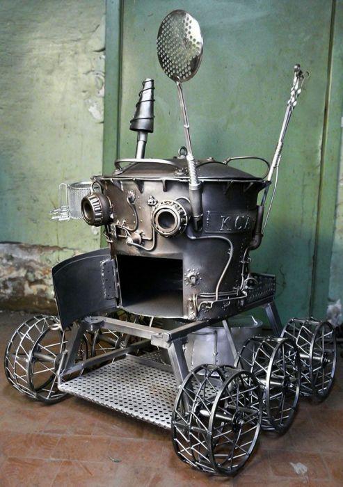 Поварской луноход (7 фото)
