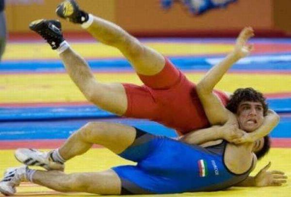 Прикольные спортивные фотографии (32 фото)