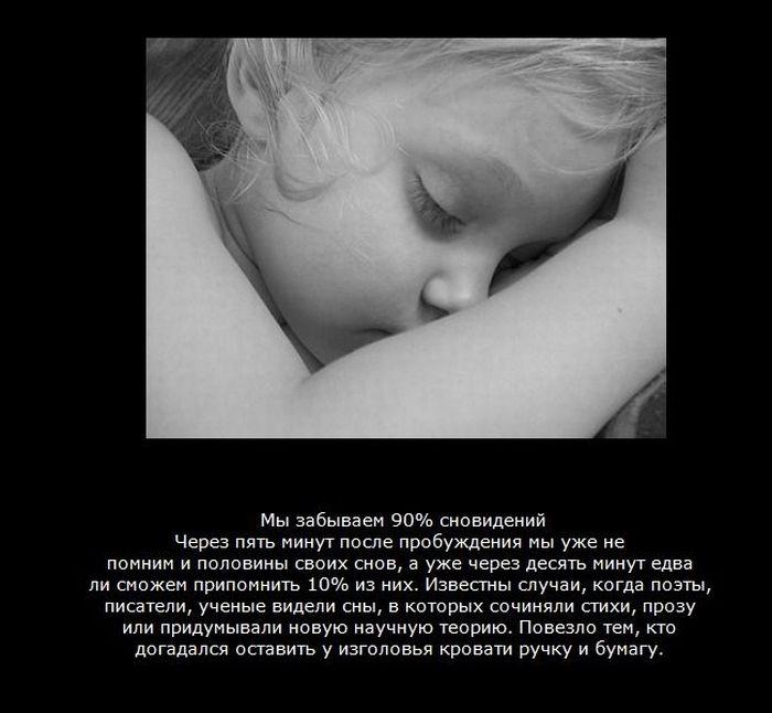 это факты о снах с картинками процедур требуется