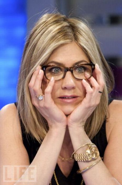 Знаменитости в очках (42 фото)