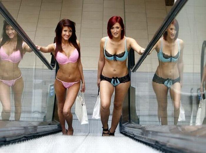 Торговый центр раздел 100 девушек (10 фото)