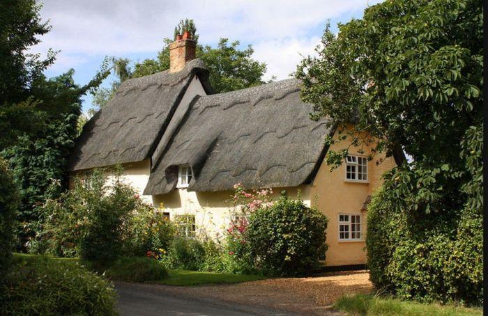 Домики в провинции Англии (55 фото)