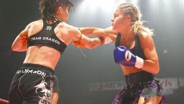 Участницы боев по смешанным боевым искусствам (69 фото)