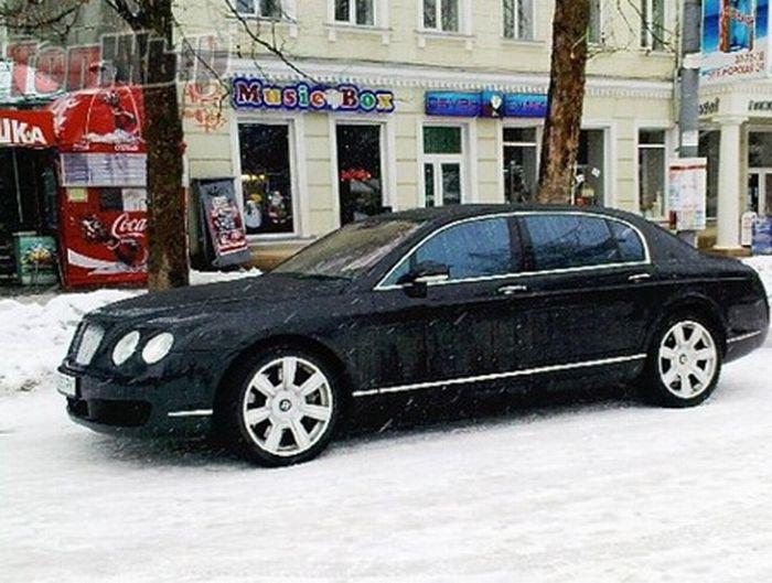 VIP-гараж украинских политиков (17 фото)