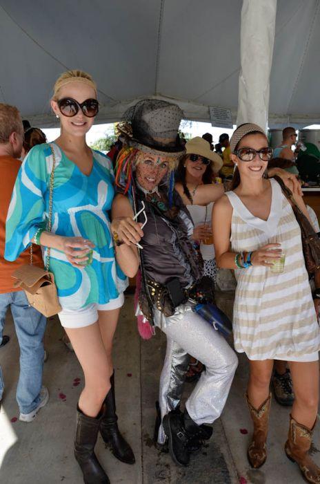 Девушки с музыкального фестиваля (113 фото)