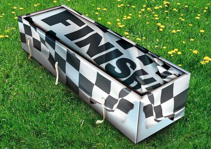 Креативные дизайнерские гробы (29 фото)