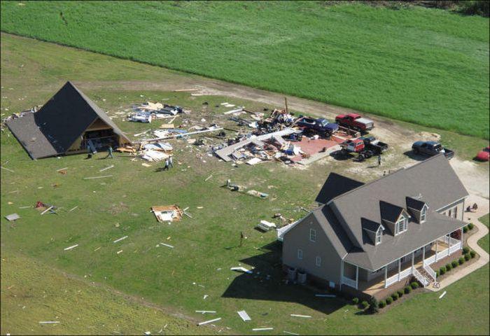 Северная Каролина после урагана (39 фото)