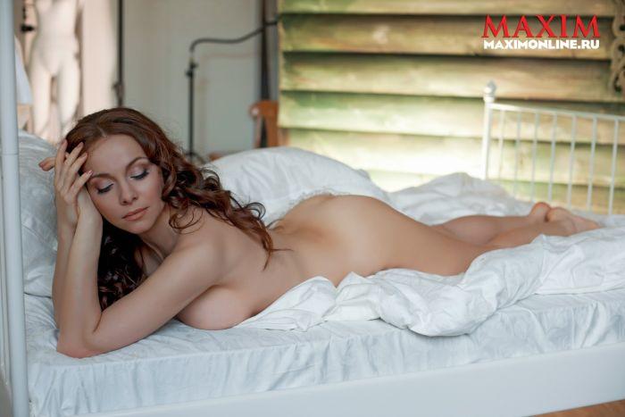 Екатерина Гусева снялась в журнале Maxim (8 фото) НЮ
