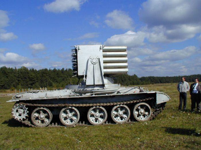 Пожарные танки СССР (24 фото)