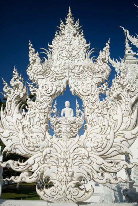 Kuzey Tayland Beyaz Tapınak, Bir Peri Masalı Gibi, Efsanevi Tayland Beyaz Tapınak