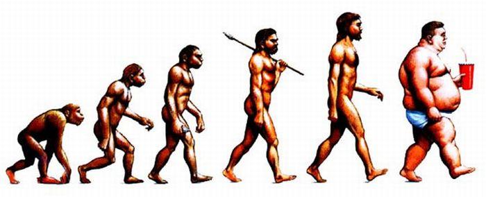 Эволюция человека (16 фото)