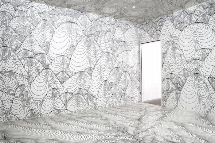 Удивительный дизайн интерьера (12 фото)