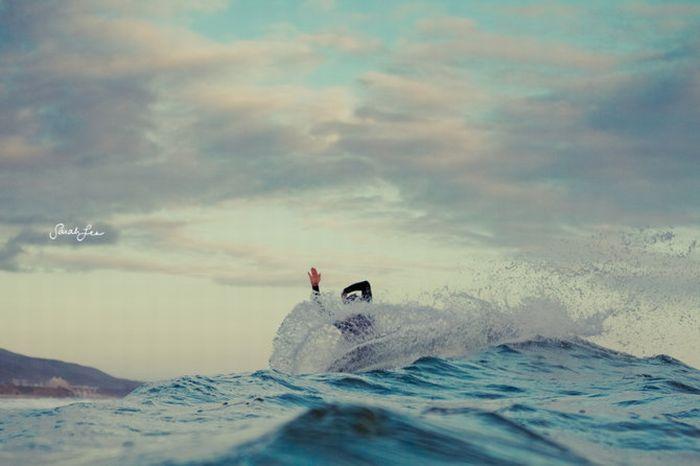 Волны и серфинг (39 фото)