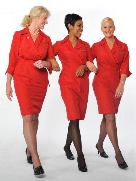 Форма стюардесс (17 фото)