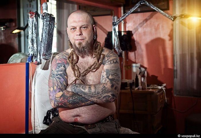 Татуировки и люди (34 фото)