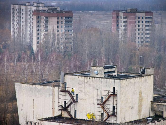 Граффити мертвого города (33 фото)