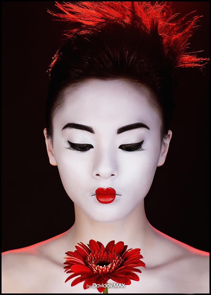 хозяйка макияж как у японки картинки полным списком