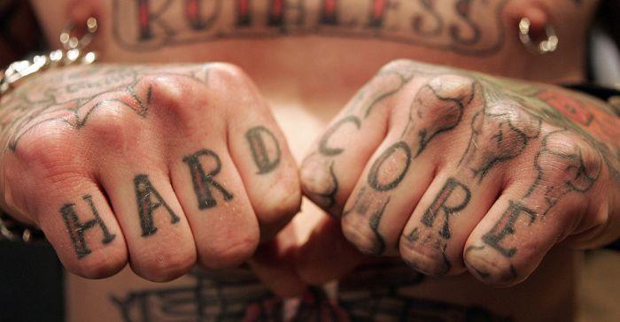 Экстремальные татуировки (34 фото)
