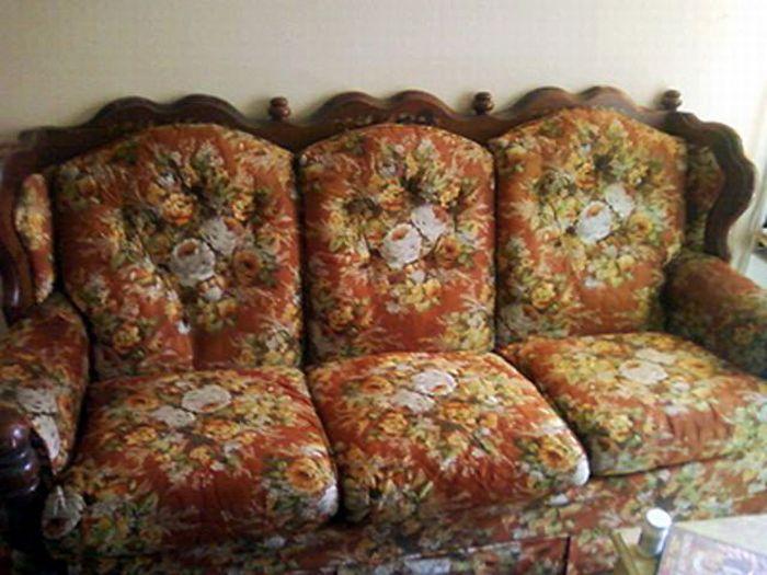 Уродливые диваны (28 фото)