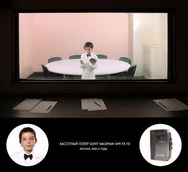 Современные дети и старые технологии (12 фото + текст)