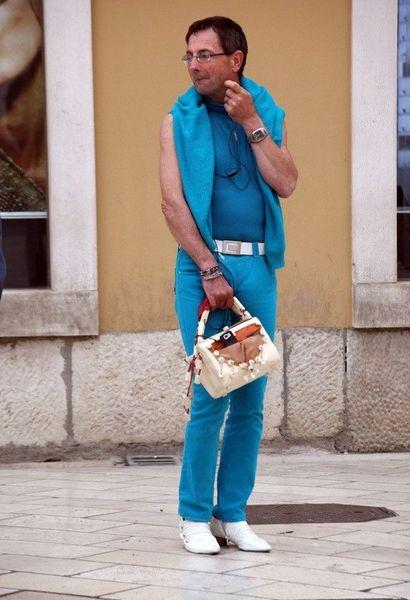 Новая мужская мода? (4 фото)