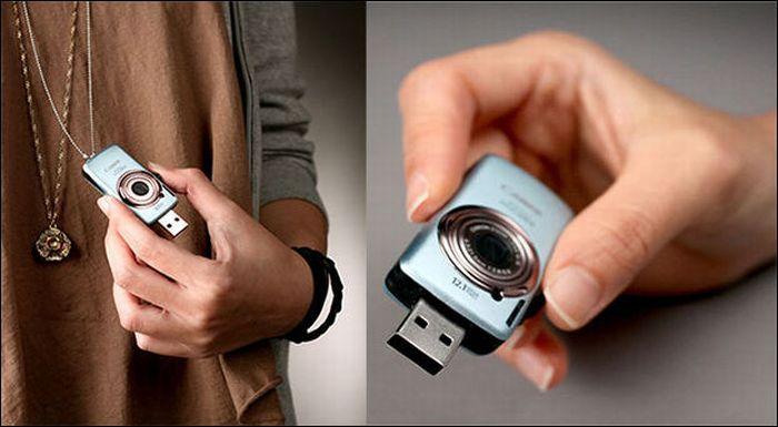 Креативные и странные флешки USB (24 фото)