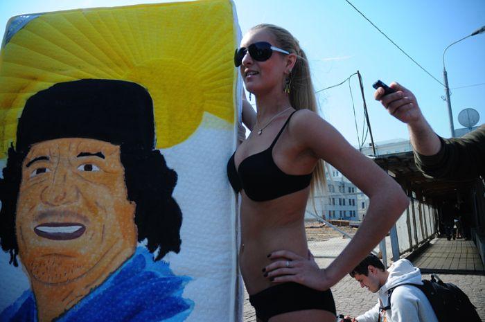 В России появилась своя FEMEN (4 фото)