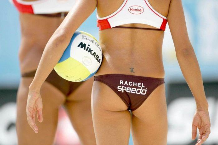 Пляжный волейбол (25 фото)