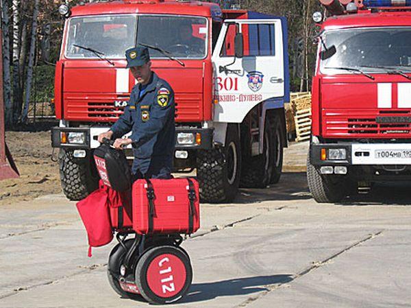 Segway для пожарных и полиции (6 фото)