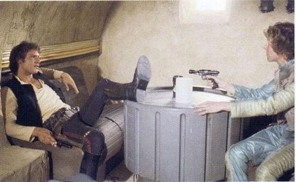 Как снимались «Звездные войны» (29 Фото)