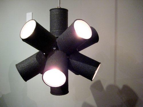 Как сделать светильник своими руками из банок