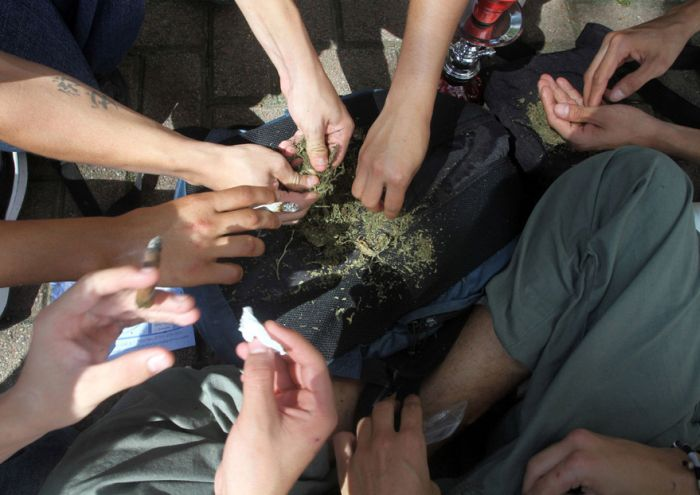 Март марихуаны (42 фото)