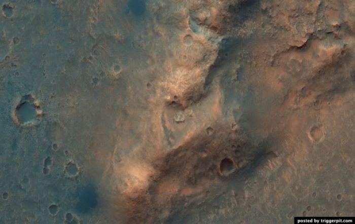 Разрешения, установленная на борту исследователя Марса Orbiter (MRO)