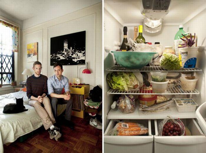 Содержимое холодильника и вы (10 фото)