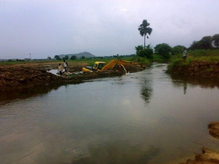 Строительство газопровода в Индии (37 фото)